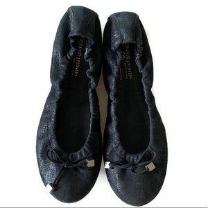 Donald J Pliner Dance Flats Black Size 10